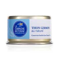 Thon blanc Germon au naturel, 130gr