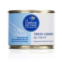 Thon blanc Germon au naturel, 200gr